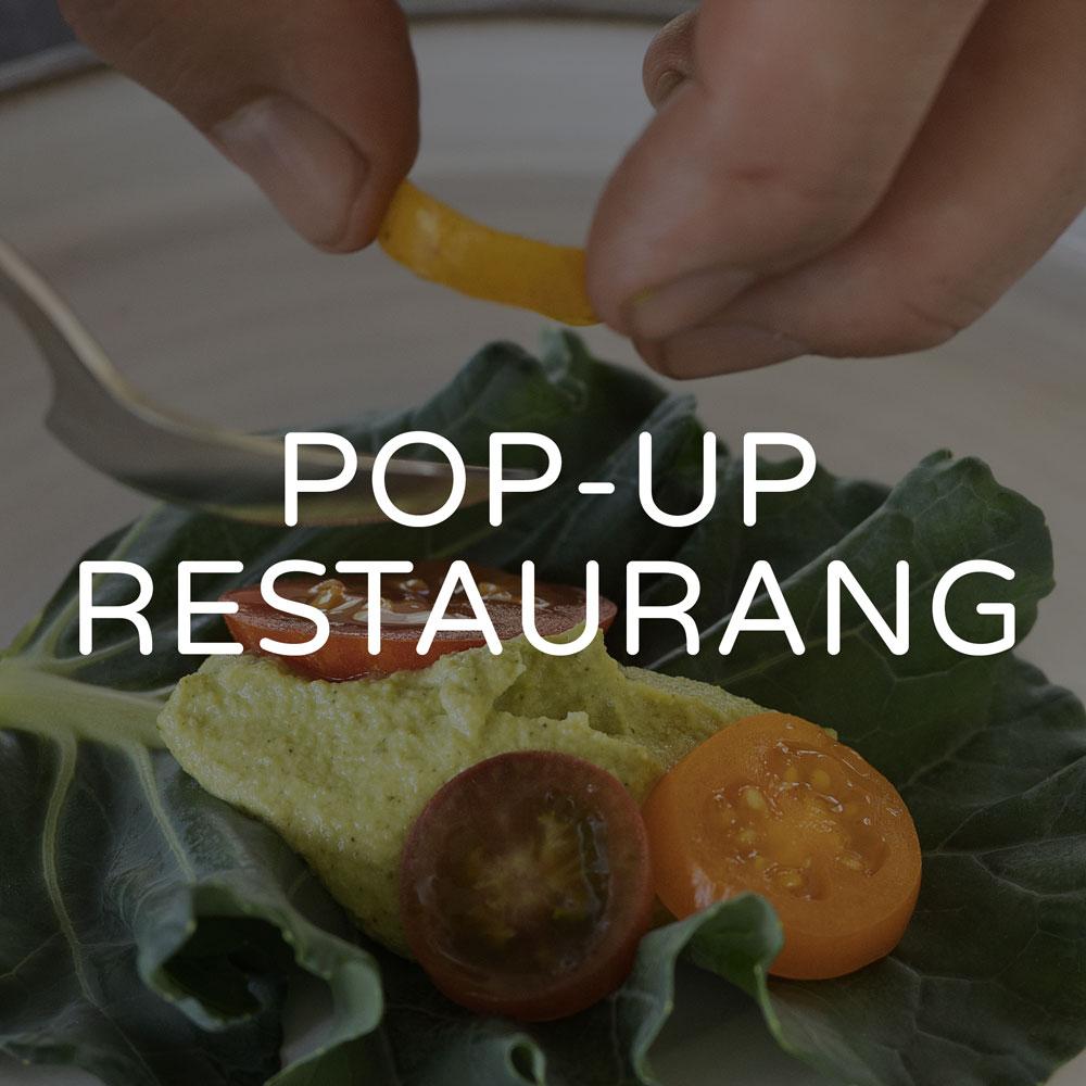 pop up restaurang